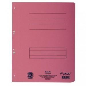 Dosar carton capse 1/1, 250 gr/mp, rosu, Exacompta - ACOMI.ro