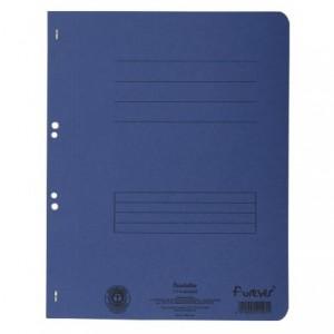 Dosar carton capse 1/1, 250 gr/mp, albastru, Exacompta - ACOMI.ro