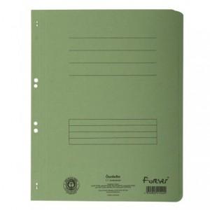 Dosar carton capse 1/1, 250 gr/mp, verde, Exacompta - ACOMI.ro