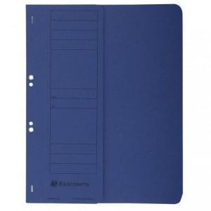 Dosar carton capse 1/2, 250 gr/mp, albastru, Exacompta - ACOMI.ro