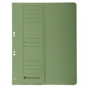 Dosar carton capse 1/2, 250 gr/mp, verde, Exacompta - ACOMI.ro
