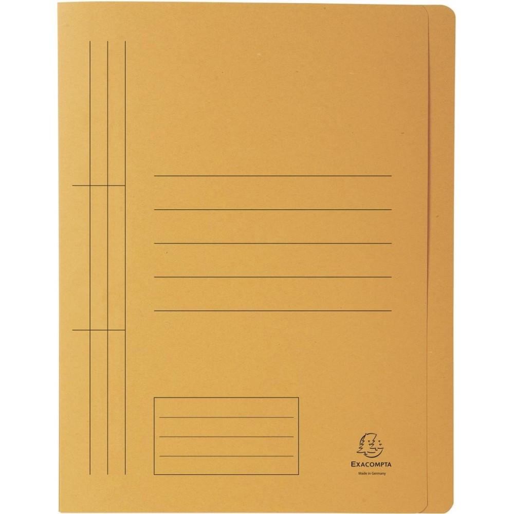 Dosar carton sina, 250 gr/mp, natur, Exacompta - ACOMI.ro