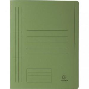 Dosar carton sina, 250 gr/mp, verde, Exacompta - ACOMI.ro