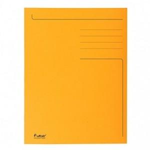 Dosar carton plic, 250 gr/mp, portocaliu, Exacompta - ACOMI.ro