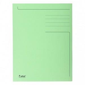 Dosar carton plic, 250 gr/mp, verde, Exacompta - ACOMI.ro