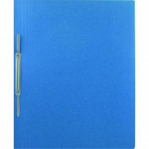 Dosar din carton cu sina, 100 buc/set, albastru, 230 gr/mp, Economic - ACOMI.ro