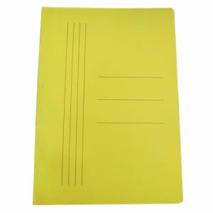 Dosar carton tip plic, 100 buc/set, galben, 230 gr/mp, Economic - ACOMI.ro