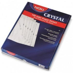 Folie protectie A4, 90 mic, 100 buc/set, cristal, Noki - ACOMI.ro