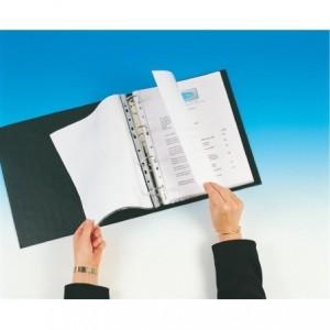 File din plastic, A4, 35 mic, 100 buc/cutie, transparent, ESSELTE - ACOMI.ro
