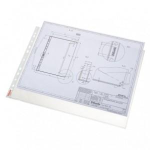 File din plastic A3, 10 buc/set, 85 mic, transparent, ESSELTE Standard - ACOMI.ro