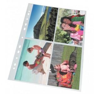 Folie protectie fotografii A4, 10/set Esselte - ACOMI.ro