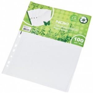 Folie protectie A4, 100/set, 30 mic, transparent, Noki - ACOMI.ro