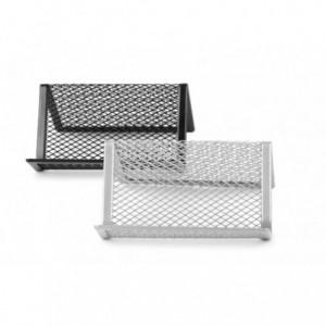 Suport carti de vizita mesh silver, Forpus - ACOMI.ro