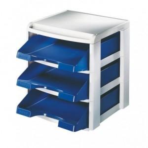 Suport si tavite albastre pentru documente, LEITZ Plus - ACOMI.ro