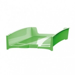 Tavita pentru documente, reciclata, verde, G2Desk FELLOWES - ACOMI.ro