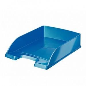 Tavita documente, albastru metalizat, Wow LEITZ - ACOMI.ro