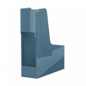 Suport vertical reciclat, albastru, G2Desk Fellowes - ACOMI.ro