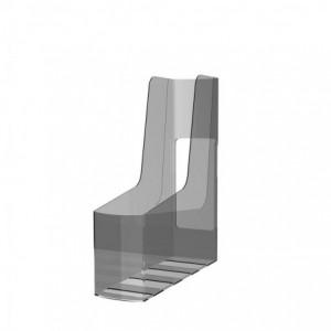 Suport vertical reciclat, transparent, G2Desk Fellowes - ACOMI.ro