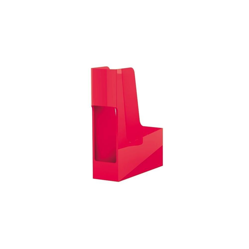 Suport vertical reciclat, rosu, G2Desk Fellowes - ACOMI.ro