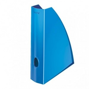 Suport vertical albastru metalizat, Wow LEITZ - ACOMI.ro