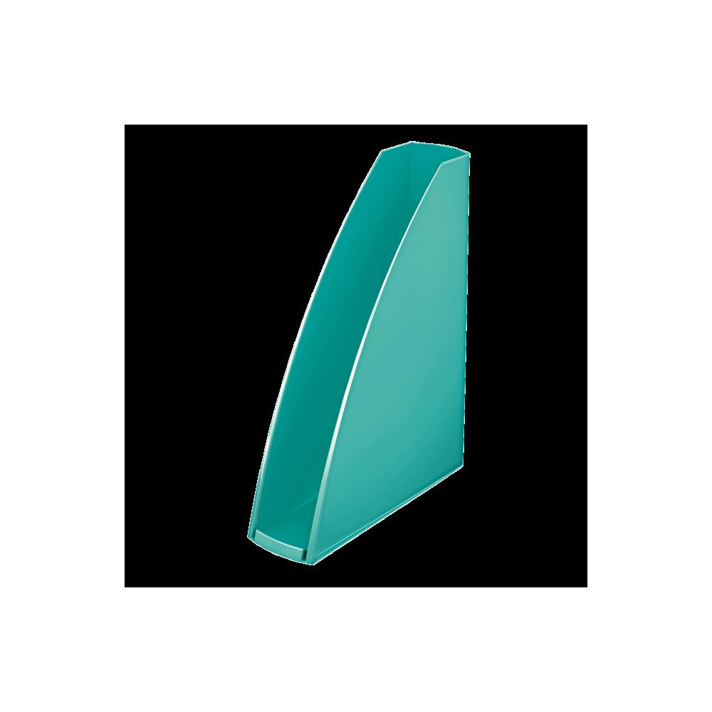 Suport vertical turcoaz metalizat, Wow LEITZ - ACOMI.ro