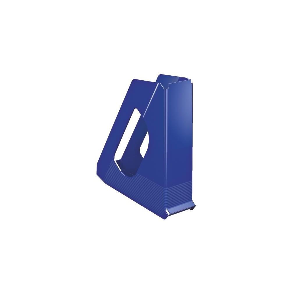 Suport vertical plastic, albastru, Europost Esselte - ACOMI.ro