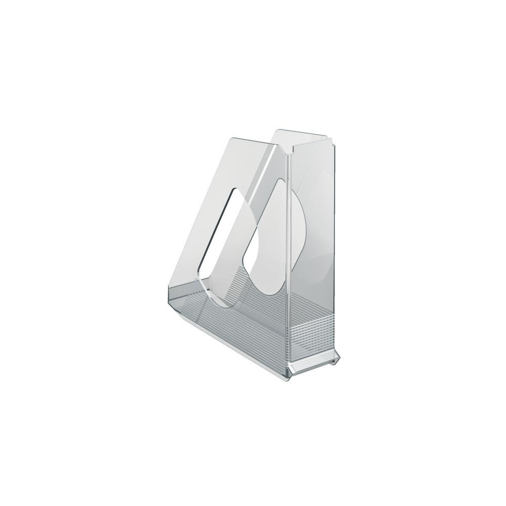 Suport vertical plastic, transparent, Europost Esselte - ACOMI.ro
