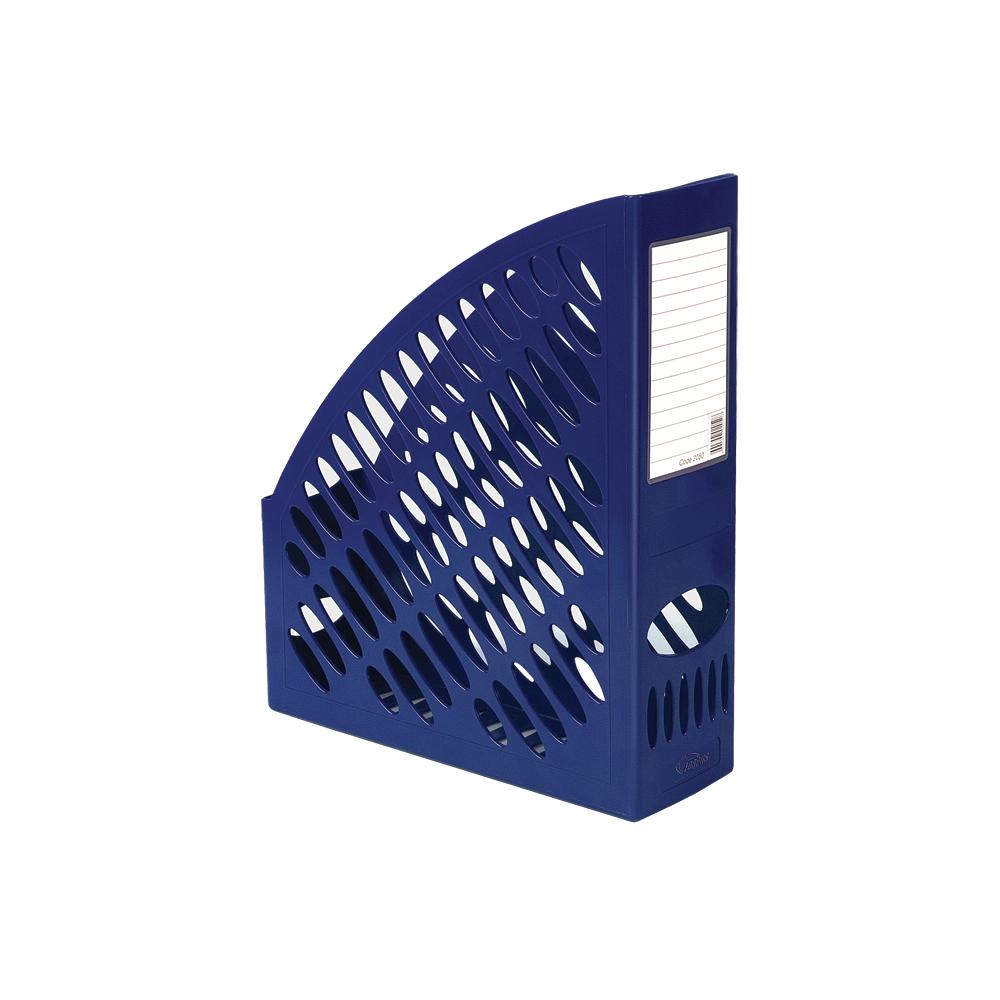 Suport vertical pentru cataloage, albastru, FORPUS - ACOMI.ro
