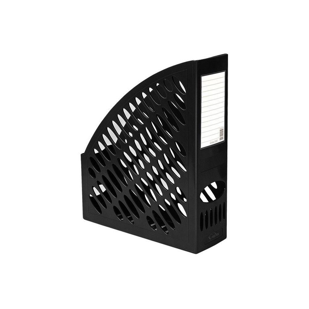 Suport vertical pentru cataloage, negru, FORPUS - ACOMI.ro