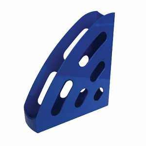 Suport vertical din plastic, albastru, FLARO - ACOMI.ro