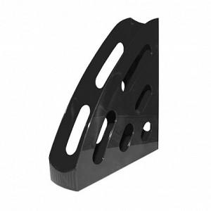 Suport vertical din plastic, negru, FLARO - ACOMI.ro