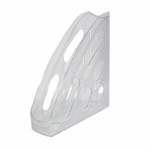 Suport vertical din plastic, fumuriu, FLARO - ACOMI.ro