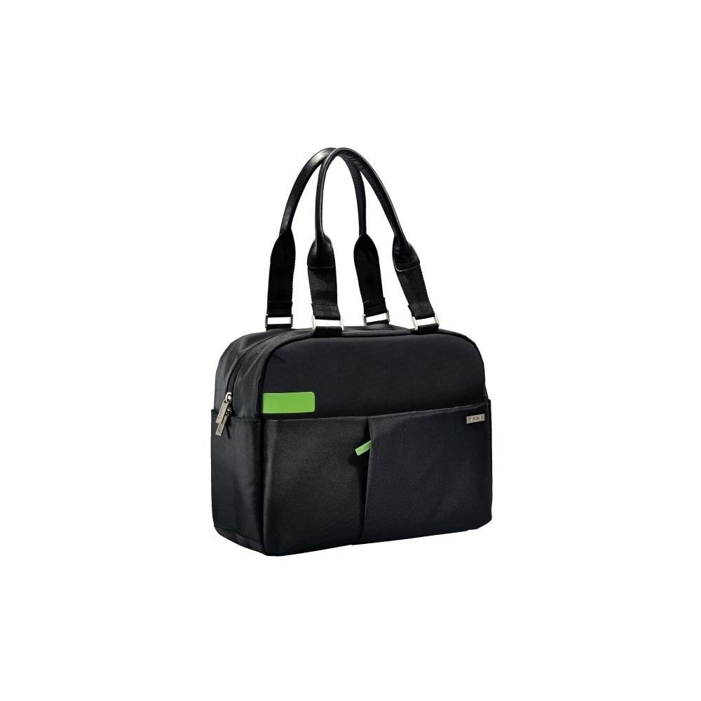 Geanta pentru laptop 13.3'', negru, LEITZ Smart Traveller Shopper - ACOMI.ro