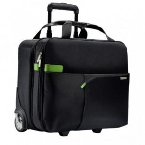 Geanta cu 2 rotile, negru, LEITZ Smart Traveller - ACOMI.ro