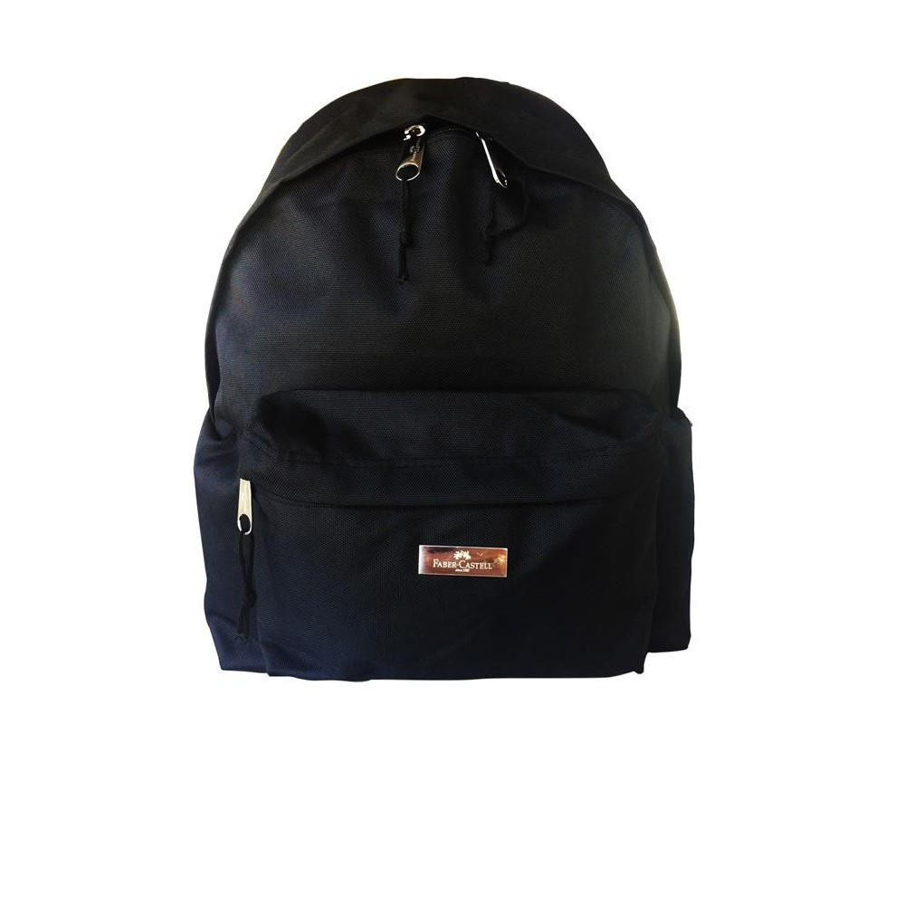 Ghiozdan scolar Basic negru, Faber-Castell - ACOMI.ro