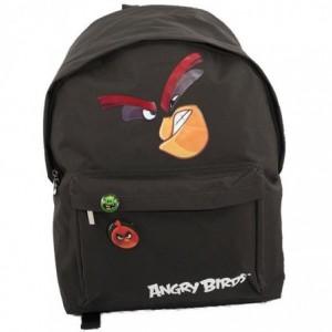 Ghiozdan simplu gimnaziu negru, Pigna Angry Birds - ACOMI.ro