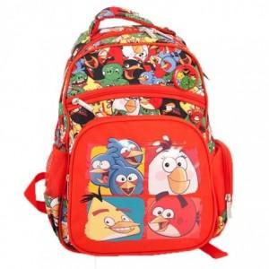 Ghiozdan prescolari rosu, Pigna Angry Birds - ACOMI.ro