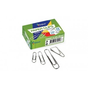 Agrafe metalice 32mm, 100 buc/cutie, FORPUS - ACOMI.ro