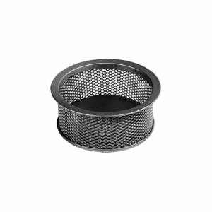 Suport agrafe rotund, metalic negru, MESH FORPUS - ACOMI.ro