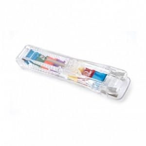 Dispenser cu  25 clipsuri color, Supaclip 40 RAPESCO - ACOMI.ro