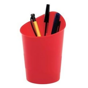 Suport pentru instrumente de scris, rosu, FELLOWES G2Desk - ACOMI.ro