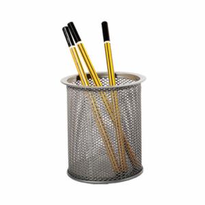 Suport instrumente de scris, MESH silver, FORPUS - ACOMI.ro