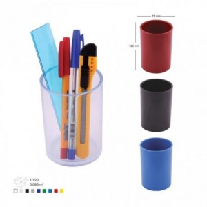 Suport din plastic pentru instrumente de scris, transparent, ARK 566  - ACOMI.ro