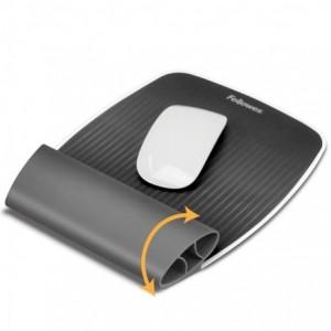 Mousepad cu suport pentru incheieturi, gri, I-Spire FELLOWES - ACOMI.ro