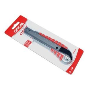 Cutter metalic 18mm Ofica cu sistem Auto-Lock - ACOMI.ro