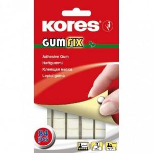 Pastile adezive nepermanente GUMFIX KORES - ACOMI.ro