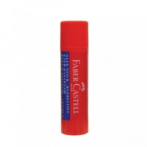 Lipici solid stick, 10 g, Faber-Castell - ACOMI.ro