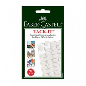 Guma adeziva 50 g, 90 buc/set, Tack-It Faber-Castell - ACOMI.ro