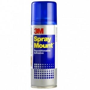 Spray adeziv 3M SPRAYMOUNT, 200 ml                   - ACOMI.ro