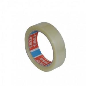 Banda adeziva 66m x 25mm acril, transparenta, TESA - ACOMI.ro